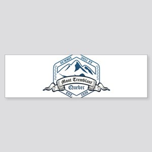 Mont Tremblant Ski Resort Quebec Bumper Sticker