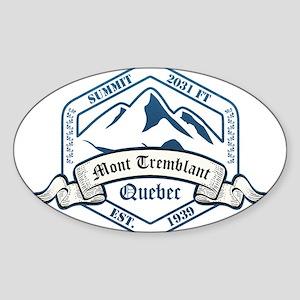 Mont Tremblant Ski Resort Quebec Sticker