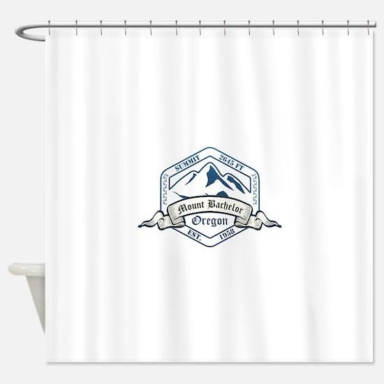Mount Bachelor Ski Resort Oregon Shower Curtain