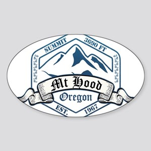 Mt Hood Ski Resort Oregon Sticker