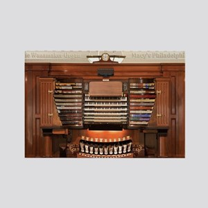 Wanamaker Organ Console Rectangle Magnet