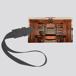Wanamaker Organ Console Large Luggage Tag