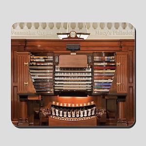 Wanamaker Organ Console Mousepad