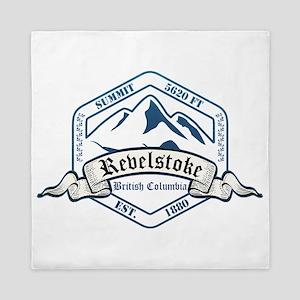 Revelstoke Ski Resort British Columbia Queen Duvet