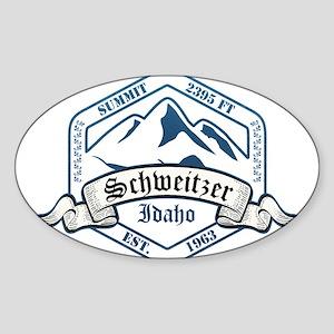 Schweitzer Ski Resort Idaho Sticker