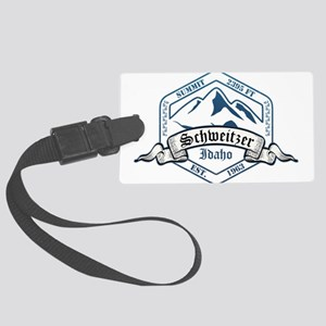 Schweitzer Ski Resort Idaho Luggage Tag