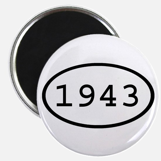1943 Oval Magnet