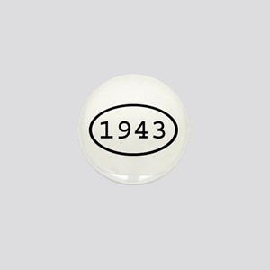 1943 Oval Mini Button