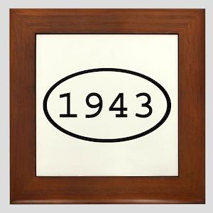 1943 Oval Framed Tile
