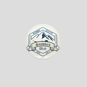 Snowbird Ski Resort Utah Mini Button