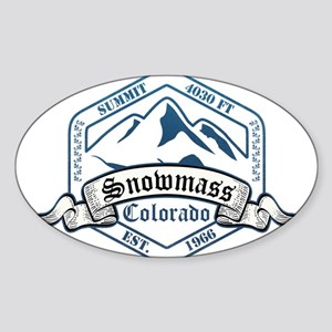 Snowmass Ski Resort Colorado Sticker