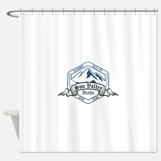 Sun Valley Ski Resort Idaho Shower Curtain