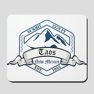 Taos Ski Resort New Mexico Mousepad