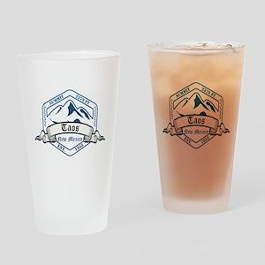 Taos Ski Resort New Mexico Drinking Glass