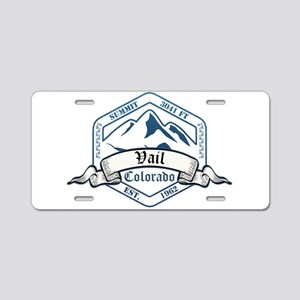 Vail Ski Resort Colorado Aluminum License Plate