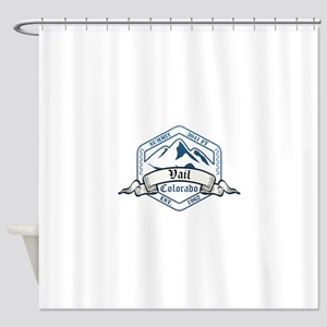 Vail Ski Resort Colorado Shower Curtain