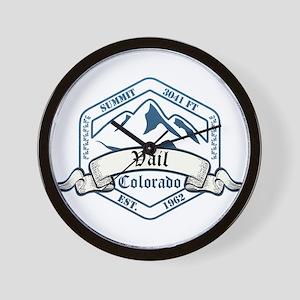 Vail Ski Resort Colorado Wall Clock