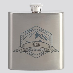 Vail Ski Resort Colorado Flask