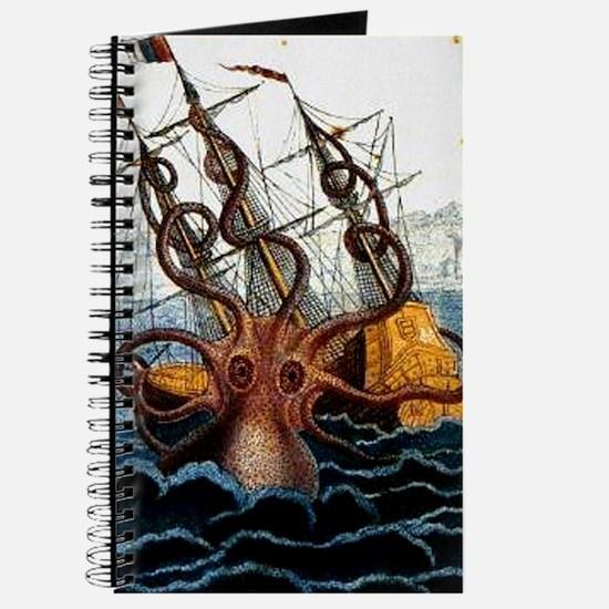 Cute Squid Journal
