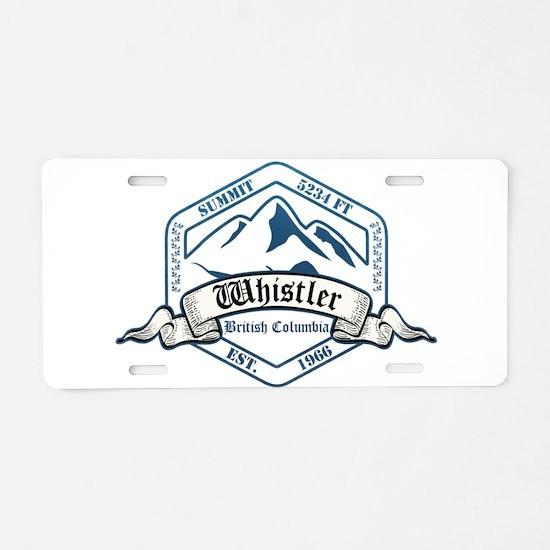Whistler Ski Resort British Columbia Aluminum Lice