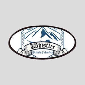 Whistler Ski Resort British Columbia Patches