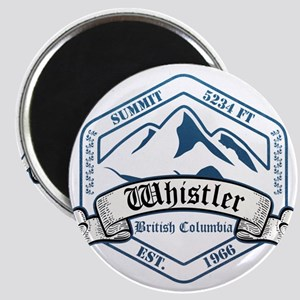 Whistler Ski Resort British Columbia Magnets