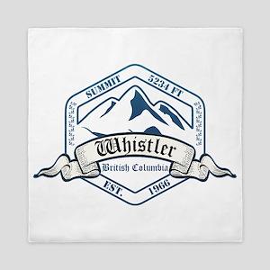 Whistler Ski Resort British Columbia Queen Duvet