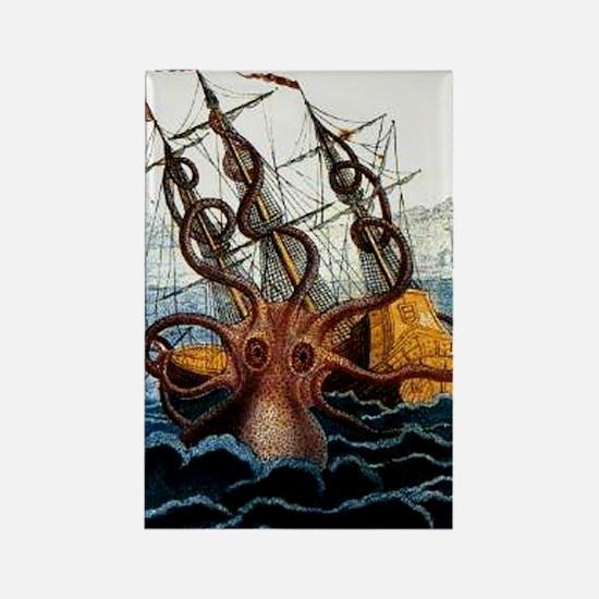 Colossal Octopus by Pierre Denys de Montfort Magne