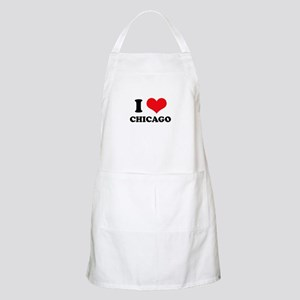 I Love (Heart) Chicago BBQ Apron