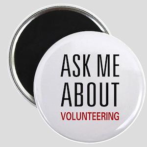 Ask Me Volunteering Magnet