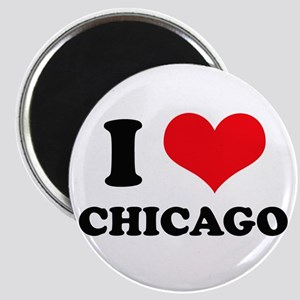 I Love (Heart) Chicago Magnet