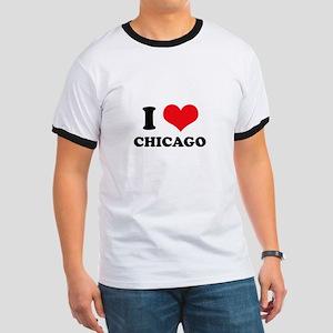 I Love (Heart) Chicago Ringer T