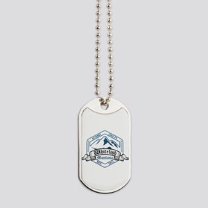 Whitefish Ski Resort Montana Dog Tags