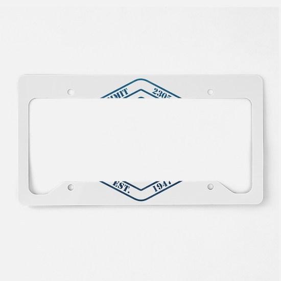 Whitefish Ski Resort Montana License Plate Holder