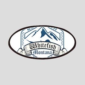 Whitefish Ski Resort Montana Patches
