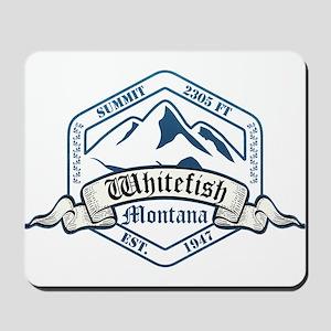 Whitefish Ski Resort Montana Mousepad