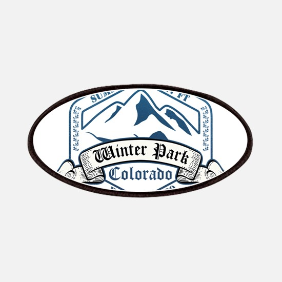 Winter Park Ski Resort Colorado Patches