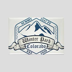 Winter Park Ski Resort Colorado Magnets