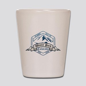 Winter Park Ski Resort Colorado Shot Glass