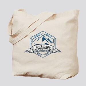 Kirkwood Ski Resort California Tote Bag