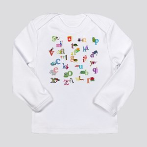 I learn the alphabet Long Sleeve T-Shirt