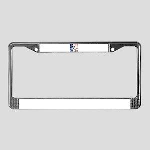 RightOn Les Bleus License Plate Frame