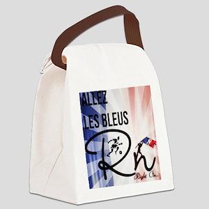 RightOn Les Bleus Canvas Lunch Bag