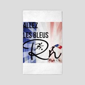 RightOn Les Bleus 3'x5' Area Rug