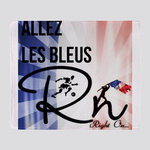 RightOn Les Bleus Throw Blanket