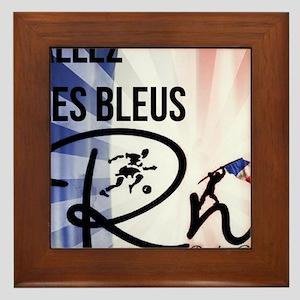 RightOn Les Bleus Framed Tile