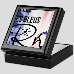 RightOn Les Bleus Keepsake Box