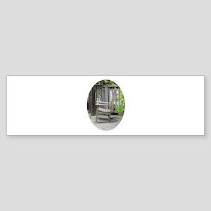 Wooden Rocking Chair Sticker (Bumper)