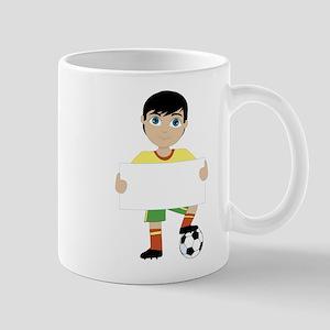 Soccer Boy Mug