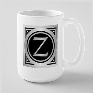 Deco Monogram Z Mugs
